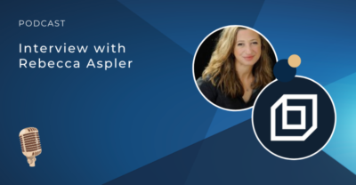 Interview with Rebecca Aspler podcast