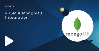 vHSM and MongoDB Integration